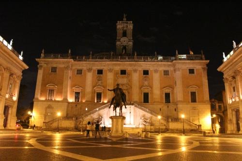 Piazza del Campidoglio on the Capitoline Hill