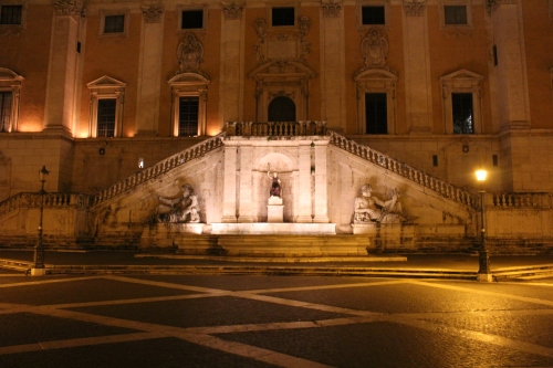 Fountain of the Goddess Roma on the Capitoline Hill