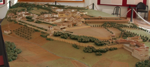Hadrian's Villa reconstruction
