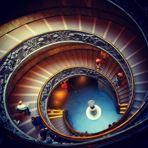 The Bramante Staircase