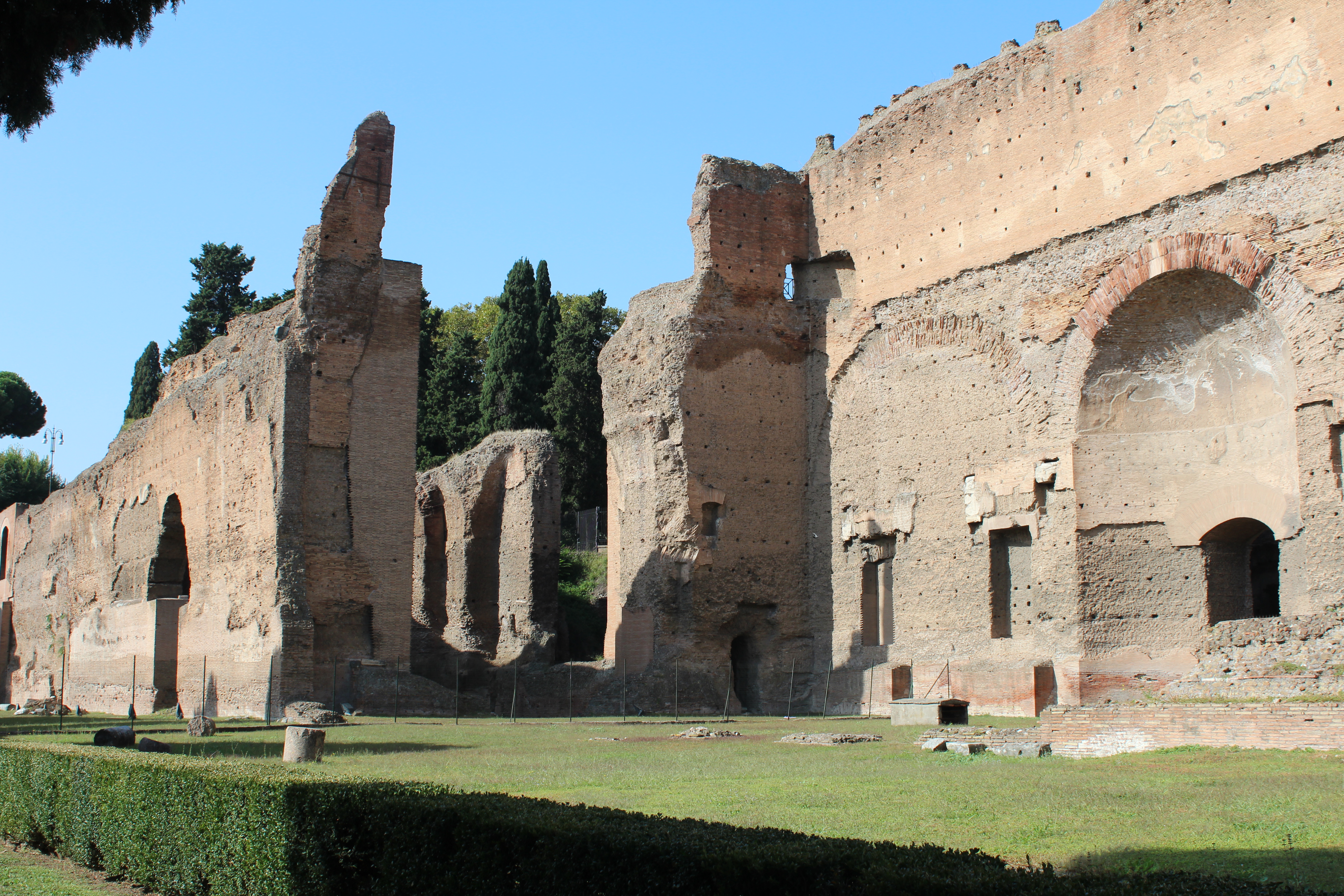baths of caracalla tales from a tour guide. Black Bedroom Furniture Sets. Home Design Ideas