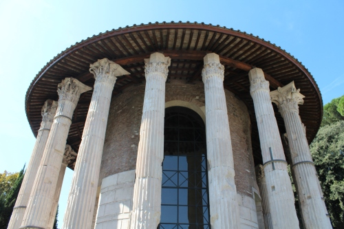 The oldest surviving marble structure in Rome