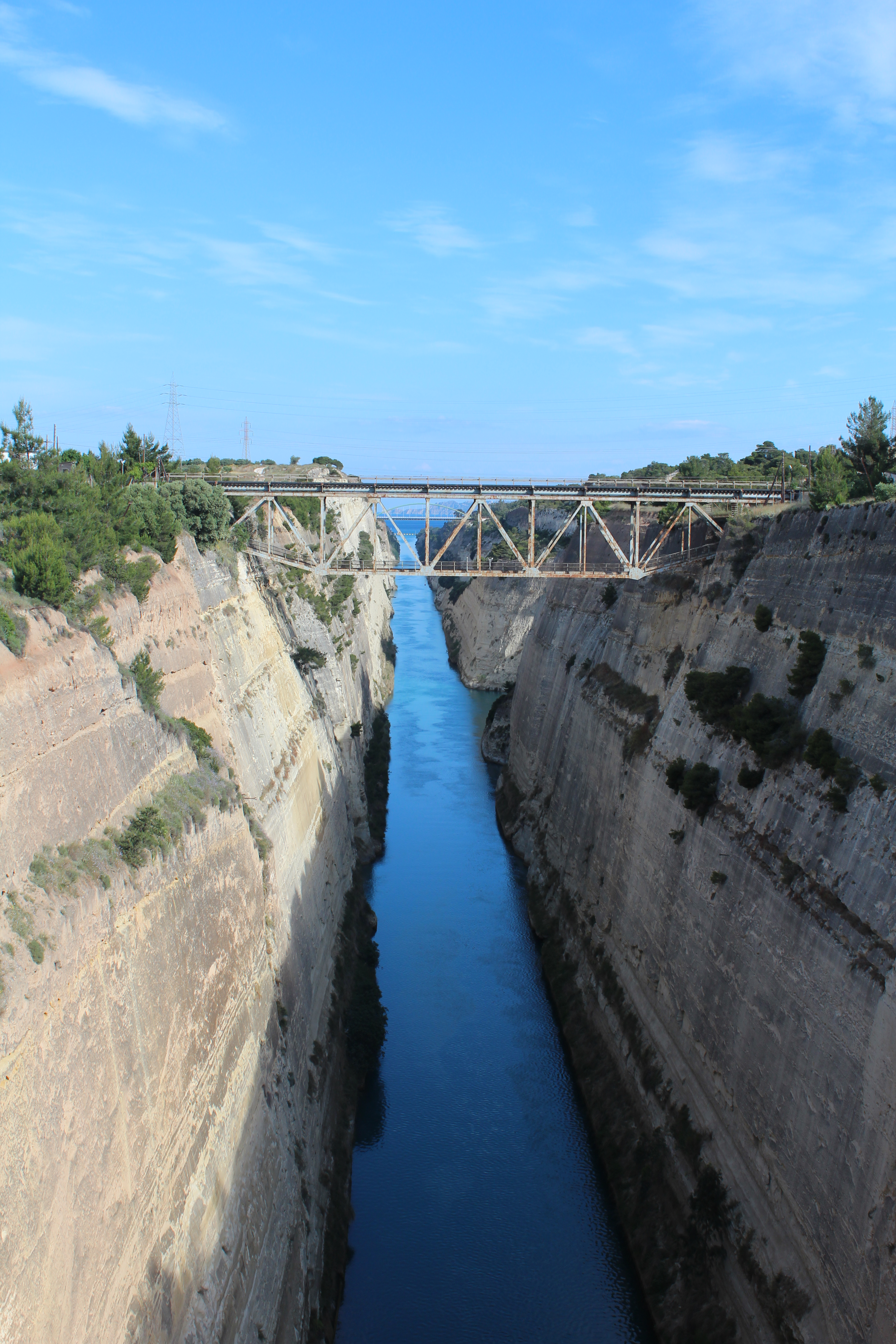 History of the Corinth Canal