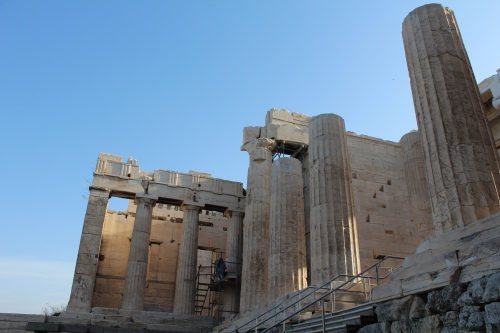 Approaching the Propylaea