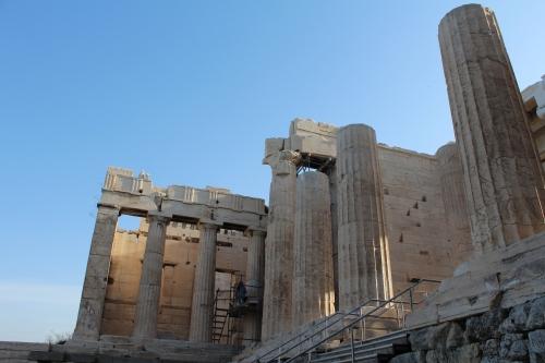 Approaching the Propylaea