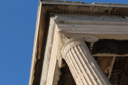 detail of the Erechtheion