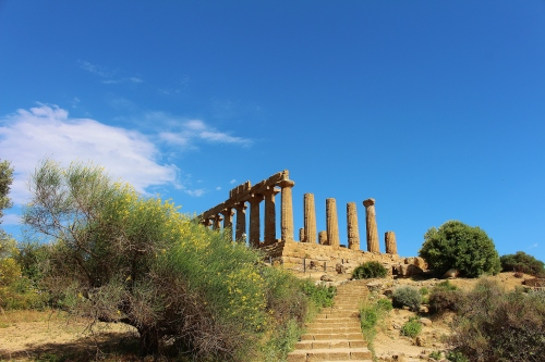 The Temple of Hera dates to around 450BC.