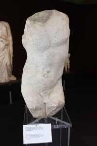 Late 4thC BC torso of a youth
